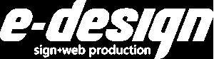 福岡で看板・カッティングシート・チャンネル文字のご依頼は福岡イーデザイン|福岡県福岡市南区 Logo